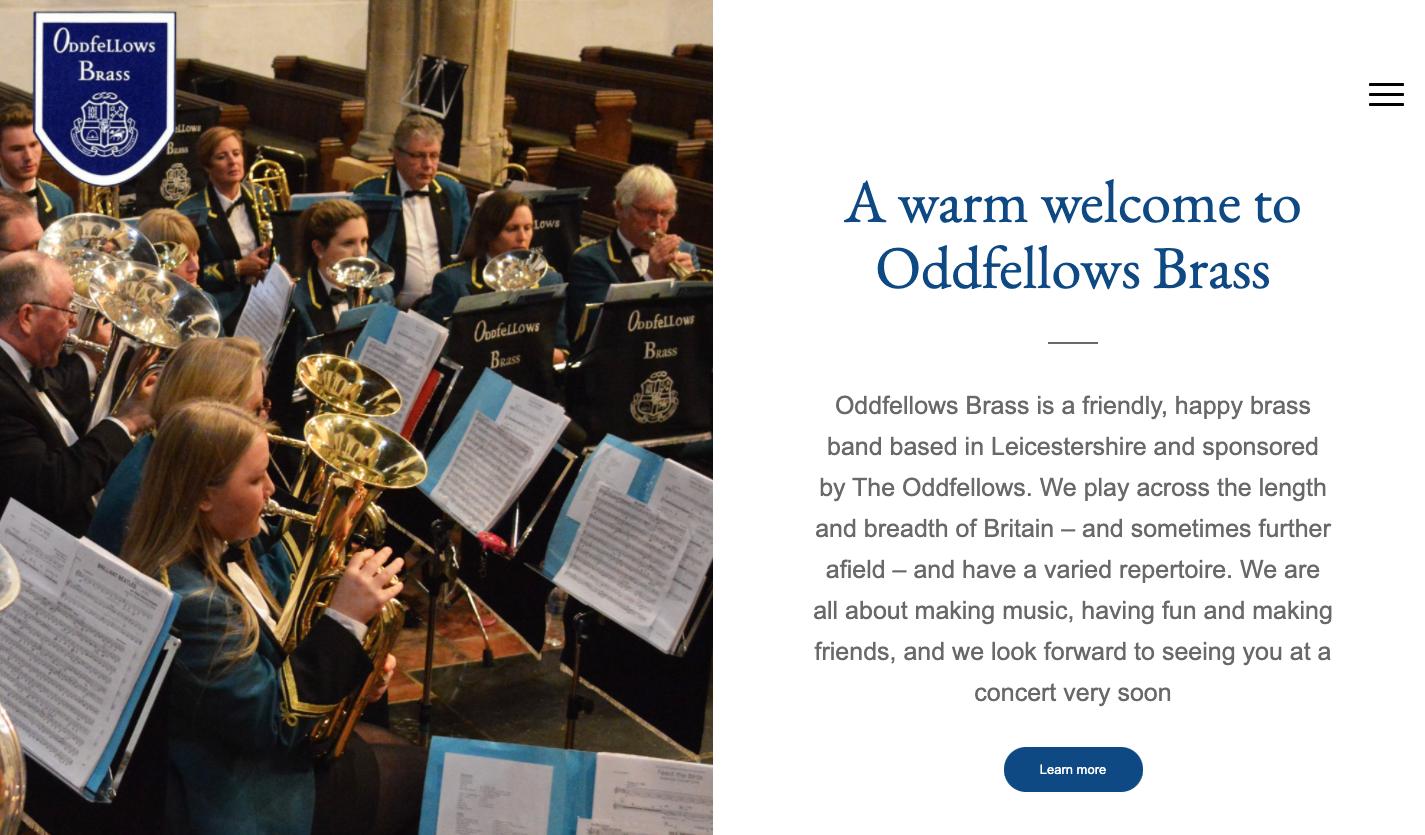 Visit the Oddfellows Brass website
