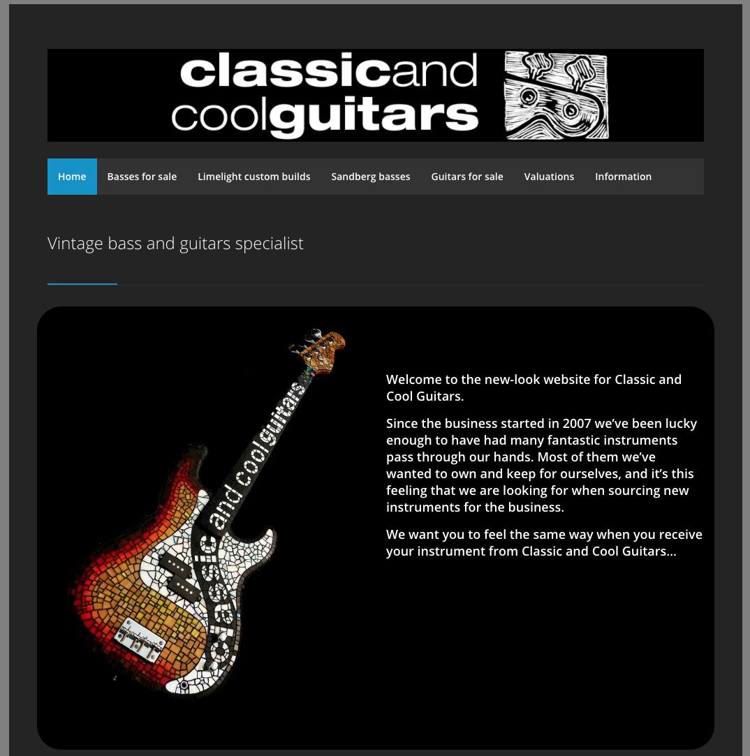 classicandcoolguitars.co.uk