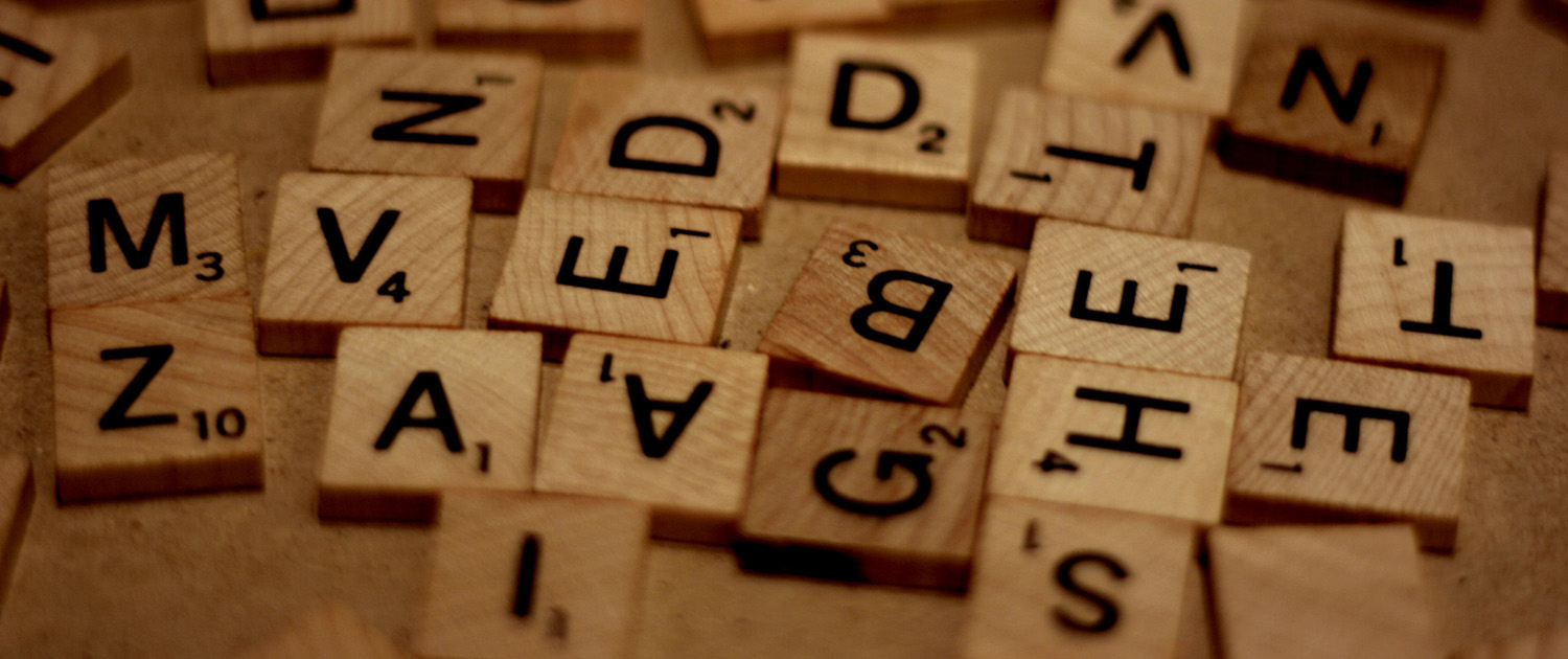 Words can be a puzzle